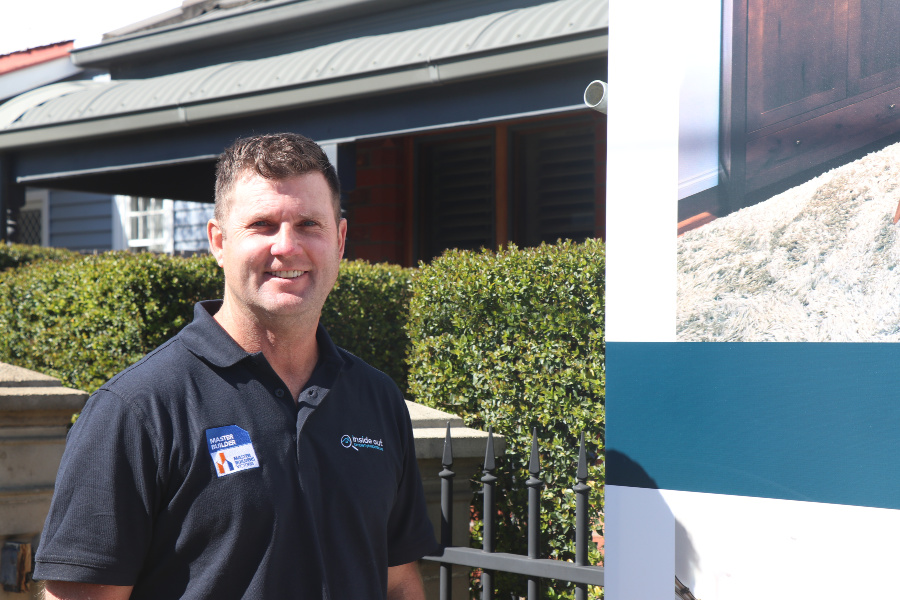 Paul Baker of Inside Out Property Inspections